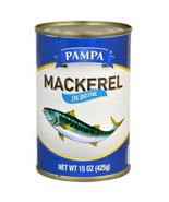 Pampa Mackerel  15 Ounce Can (Pack of 1) - $8.42