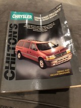 1984-1995 Chrysler Caravan, Voyager, Town & Country Repair Manual - Chil... - $10.00