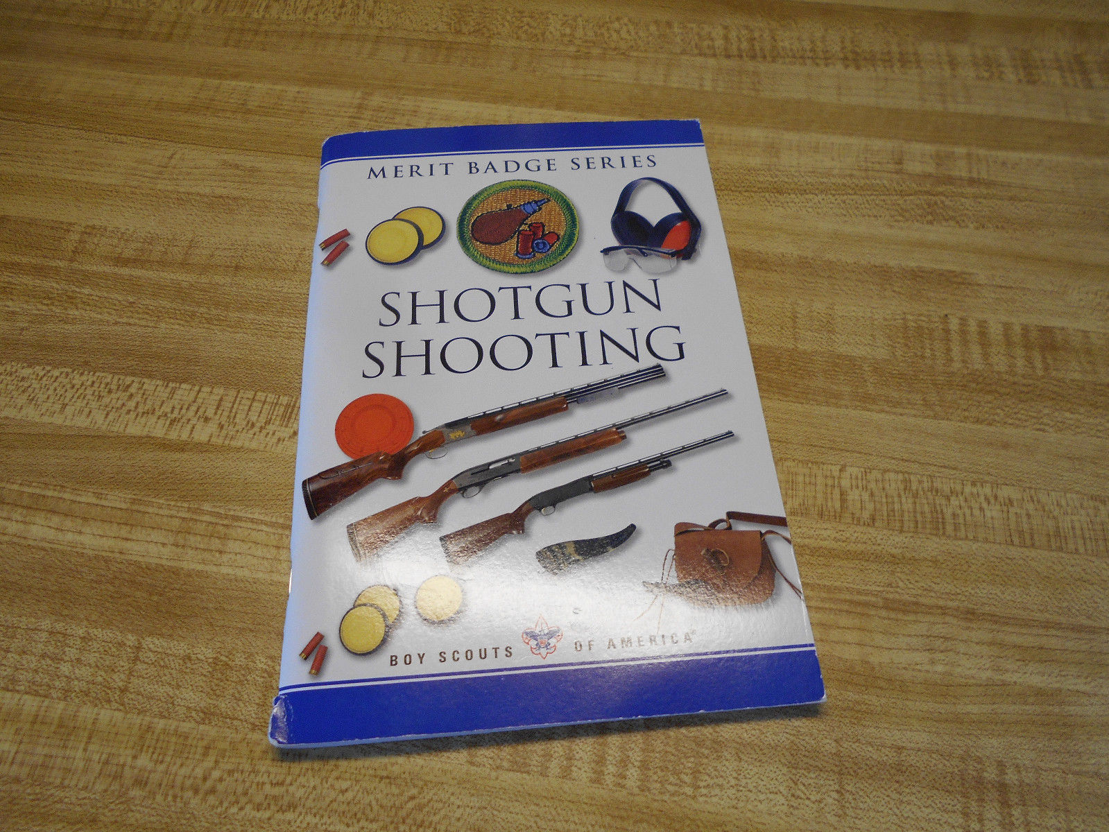 BSA Shotgun Shooting Merit Badge Book