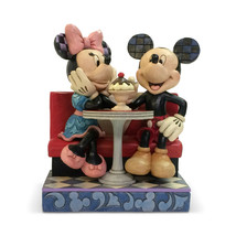 "6.25"" Love Comes in Many Flavors -Mickey & Minnie - Jim Shore Disney Traditions image 2"