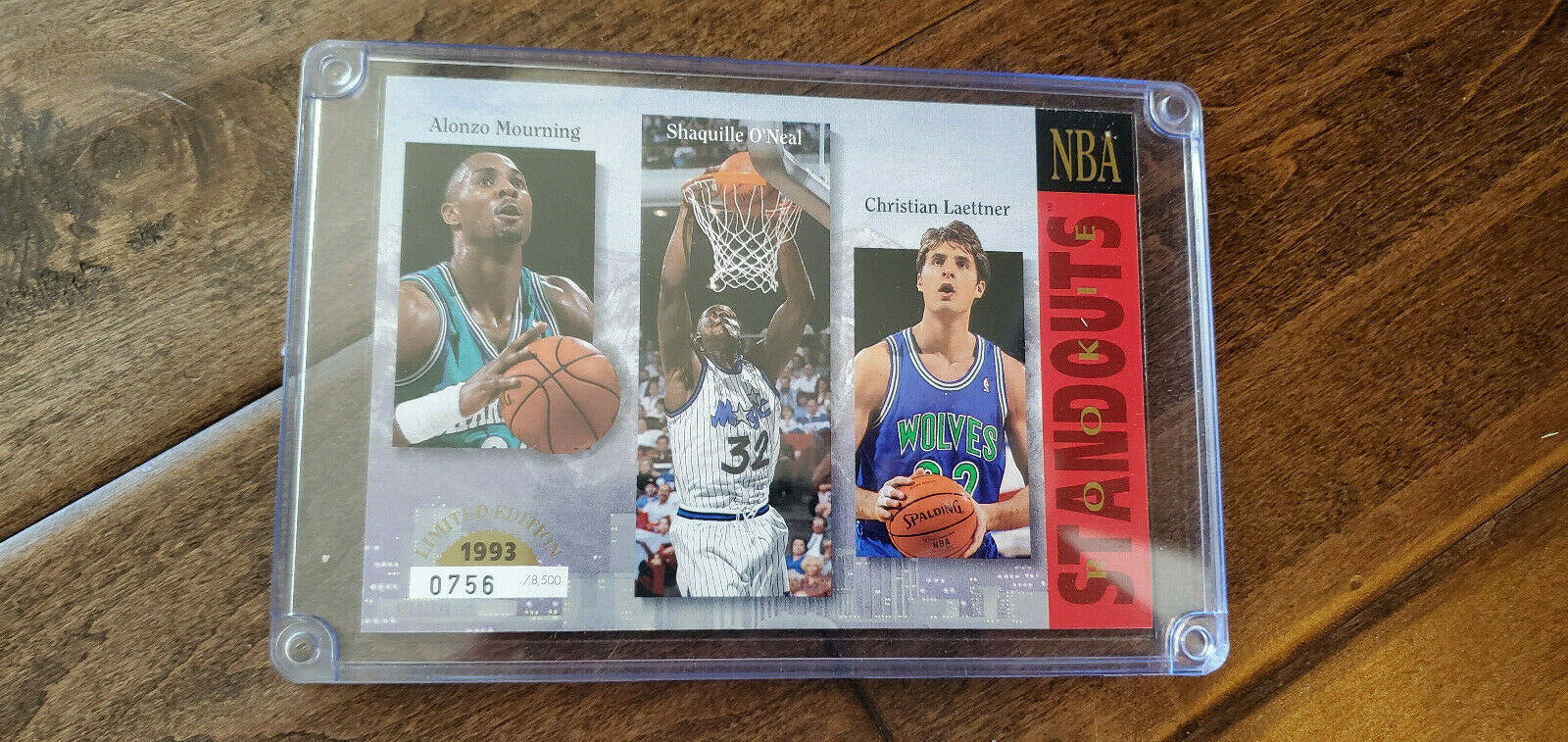 Primary image for 1993 Upper Deck Recluta Standouts Commemorativo Scheda Shaquille o' Neal +