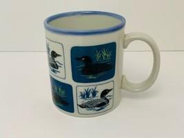Vintage Otagiri Coffee Mug Loons on the Water Made in Japan - $19.55