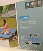 Embark Queen Air Bed Mattress w/ Electric Pump 8.5in-height Camping Inflatable image 3