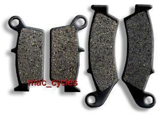Honda Disc Brake Pads XR600R 1991-1992 & 1994-2000 Front & Rear (2 sets)