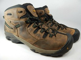 Keen Detroit Mid Size 15 M (D) EU 48 Men's Steel Toe Work Boots Brown 1007003