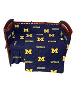 Michigan Wolverines Baby Crib Set Cotton - $102.90