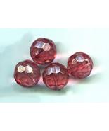 20mm pink acrylic beads acrylic crystal bead plastic beads round beads b... - $2.40