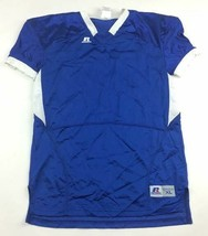 New Russel Athletic Mesh Short Sleeve Football Shirt Boy's Large Blue S6... - $7.71