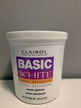 Clairol basic white powder lightener 16oz - $25.00