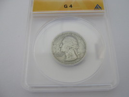 Washington Quarter , 1934-D , G-4 , ANACS Certified  - $19.00