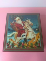 Enesco Music Box Laminated Wood - 1987 Santa Clause is Coming to Town - ... - $23.99