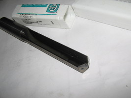Metal Removal, 15.478mm Straight Flute, Carbide Coolant Thru Drill - $93.49