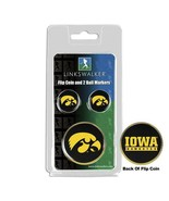 Iowa Hawkeyes Flip Coin and 2 Golf Ball Marker Pack - $14.25