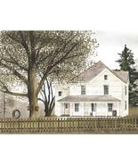 NEW UNFRAMED GRANDMAS HOUSE FARM HOUSE TREE SWING 18X24 OUTDOOR ART PRINT   - $17.21