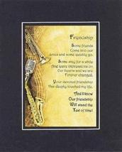 Touching and Heartfelt Poem for Special Friends - Friendship Poem on 11 x 14 inc - $15.79