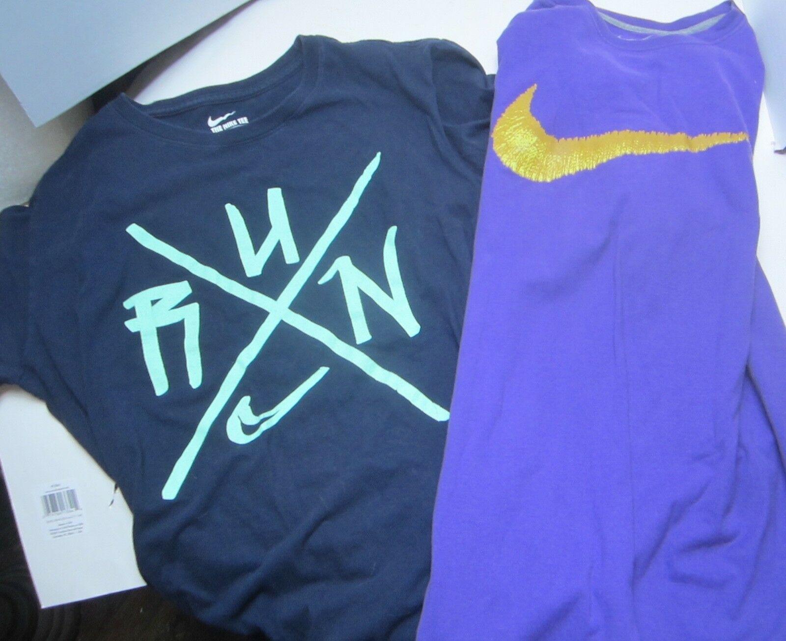 716677da Nike Swoosh Purple T-Shirt AND Navy run and 50 similar items. 57