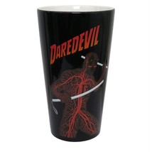 Daredevil The Man Without Fear Pint Glass Black - $18.98