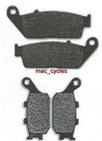 Honda Disc Brake Pads CB600F Hornet 1998, 2000, 2004 & 2006 Front & Rear (2sets)
