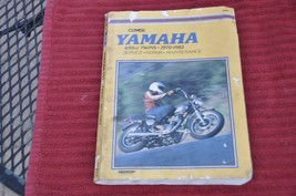 Clymer Yamaha 650cc Twins 70-82 Repair Manual - $12.99