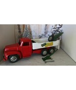 1954/55 BUDDY L PRESSED STEEL REPAIR IT WRECKER TRUCK WITH RARE ORIGINAL... - $346.45