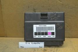 03-06 Chevrolet Avalanche Body Control Module BCM 15116066 Unit 505-19d2 - $19.99