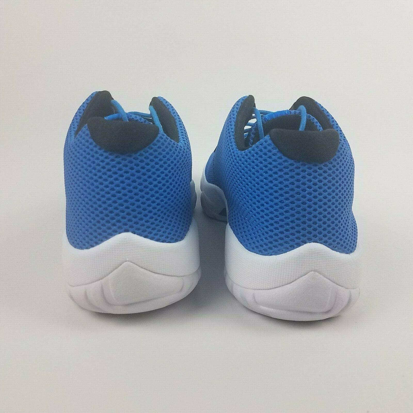 Air Jordan Mens Future Low Photo Blue Black Shoes 718948 400 Size 9 image 8
