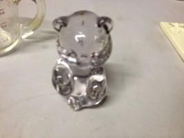 Vintage Fenton Teddy Bear Glass Paper Weight Purple Amethyst  Jo Lopes (... - $46.74