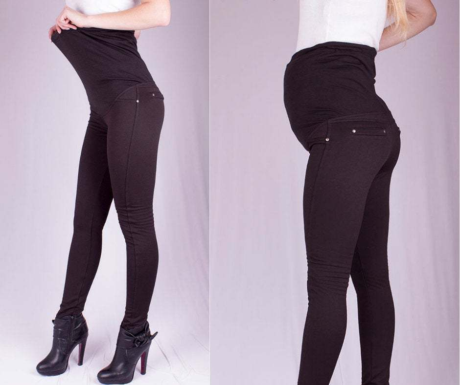 Primary image for Cheap Maternity Leggings, Over the Belly Leggings, Tall Maternity Leggings