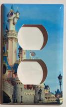 Paris Disney princess castle Light Switch Outlet wall Cover Plate Home Decor image 3
