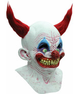 Halloween CHINGO THE BIRTHDAY CLOWN Adult Latex Deluxe Mask Ghoulish Pro... - $56.99