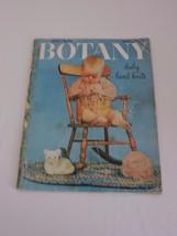Botany Baby Hand Knits Vintage Knitting Magazine Vol. 22 1951 Layette Pa... - $11.21