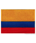 Embroidered iron-on COLOMBIA FLAG PATCH COLOMBIAN CENTRAL SOUTH AMERICA ... - $10.00