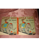 VTG LITTLE LULU ON PARADE HARDCOVER BOOK w/ DUST JACKET by MARGE COMICS ... - $49.95