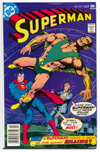 Superman 313 1st Series DC 1977 VF - $4.56