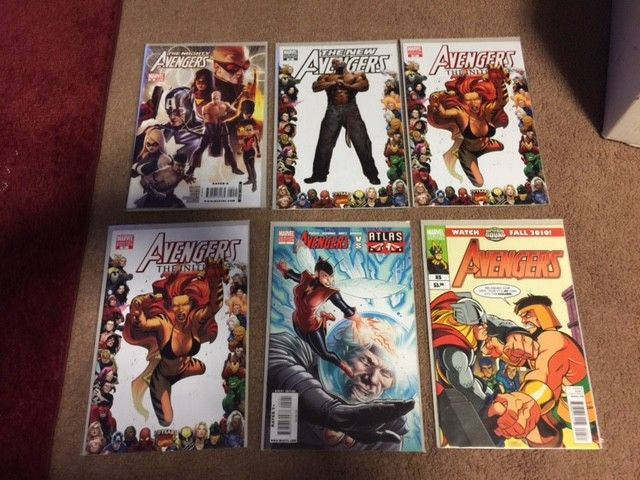 Mighty Avengers Marvel New secret dark   iniative  Variant   LOT OF 15