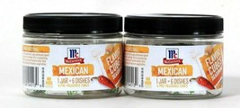 2 McCormick 2.53 Oz Flavor Cubes Seasoning Mexican 1 Jar Makes 6 Dishes No MSG - $15.99
