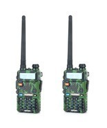Baofeng uv-5r cb comouflage radio transciver 5w handheld hunting walkie ... - €135,98 EUR