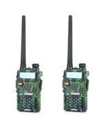 Baofeng uv-5r cb comouflage radio transciver 5w handheld hunting walkie ... - £123.27 GBP