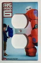 The Big Hero 6 Light Switch Duplex Outlet wall Cover Plate Home decor image 10