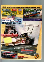 NATIONAL DRAGSTER-MAY 51989-NHRA-MID-SOUTH NATIONALS SOUVENIR EDITION VG - $43.46