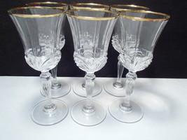 6 RCR Aurea Gold Goblets - $39.95