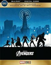 The Avengers Blu-Ray, DVD, Digital Collectible Edition Steelbook - $15.00