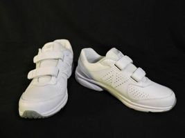 NWOB Mens New Balance 411 sneakers 7.5 D White Leather No Lace Easy ON NEW shoes image 5