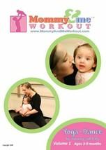 MOMMY & ME WORKOUT Yoga Dance Vol 1 DVD + CD SET OOP Post Pregnancy Baby... - $18.22
