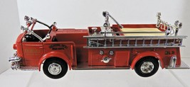 Ertl 1948 American LaFrance DuBuque Iowa Fire Truck Coin Bank - $22.79