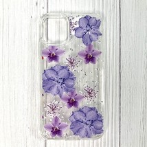 Pressed dried flower Design Phone case for LG k61/K51s/K41s In Purple - $12.52