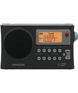 Sangean AM/FM Weather Alert Portable Radio  PR-D4W - $89.99