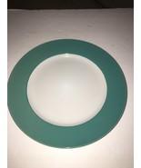 """Royal Norfolk 10 1/2"""" Dinner Plates Set Of 4 Green/White (New)SHIPS N 24... - $29.28"""