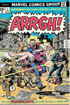 Arrgh! Humor Comic Book #1, Marvel Comics 1974 VERY FINE - $24.11