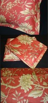 3 Three Euro European Sham Pillow Cover New Ralph La VILLA CAMELIA FLORA... - $112.55